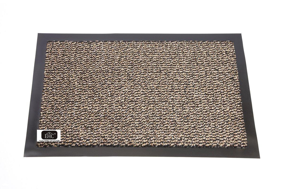EHC Heavy Duty Barrier Mat, Non-Slip Backing, Indoor/Outdoor, 40 x 60cm - Blue Elitehousewares E7-DBM4060BL