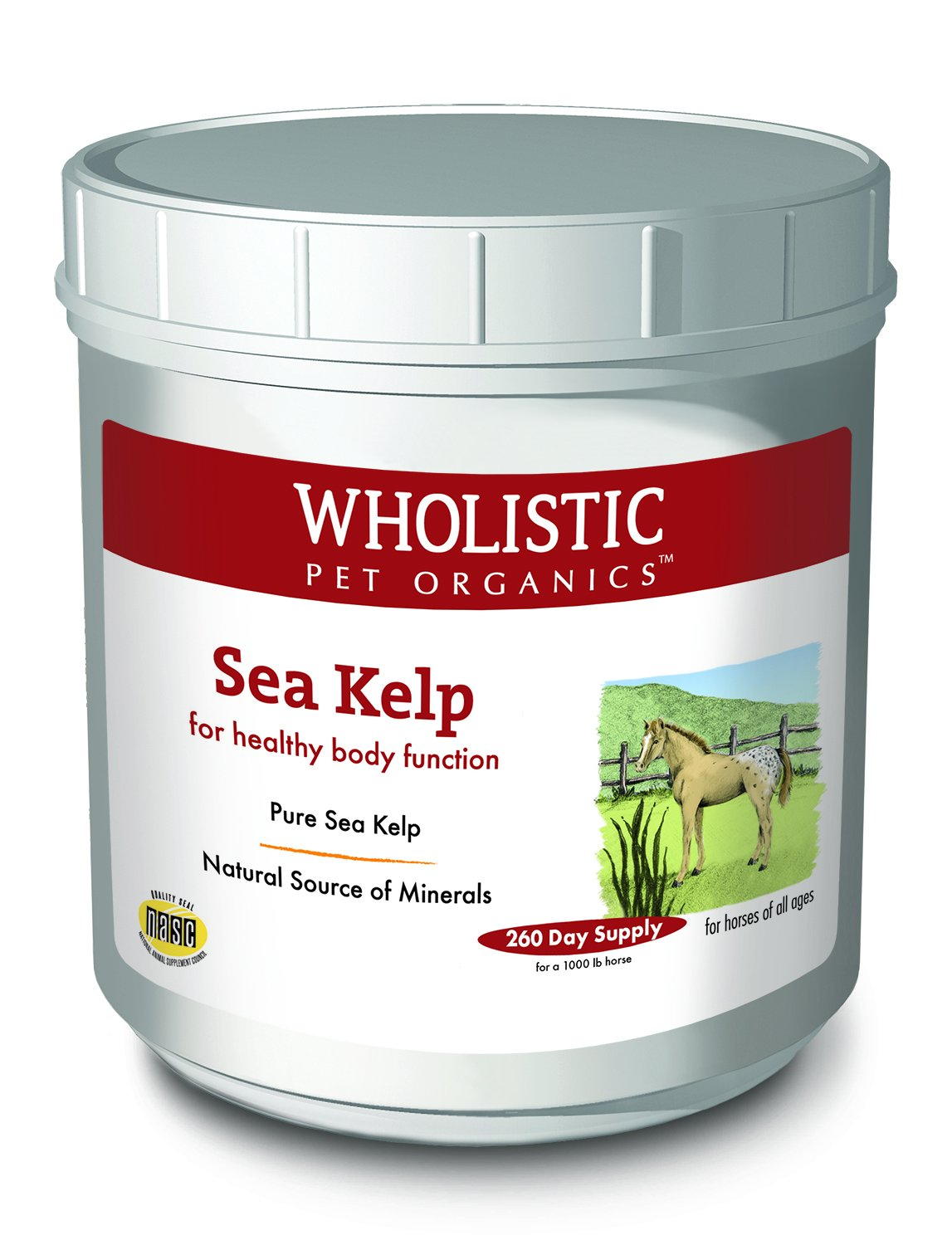 Wholistic Pet Organics Sea Kelp Supplement, 8 lb