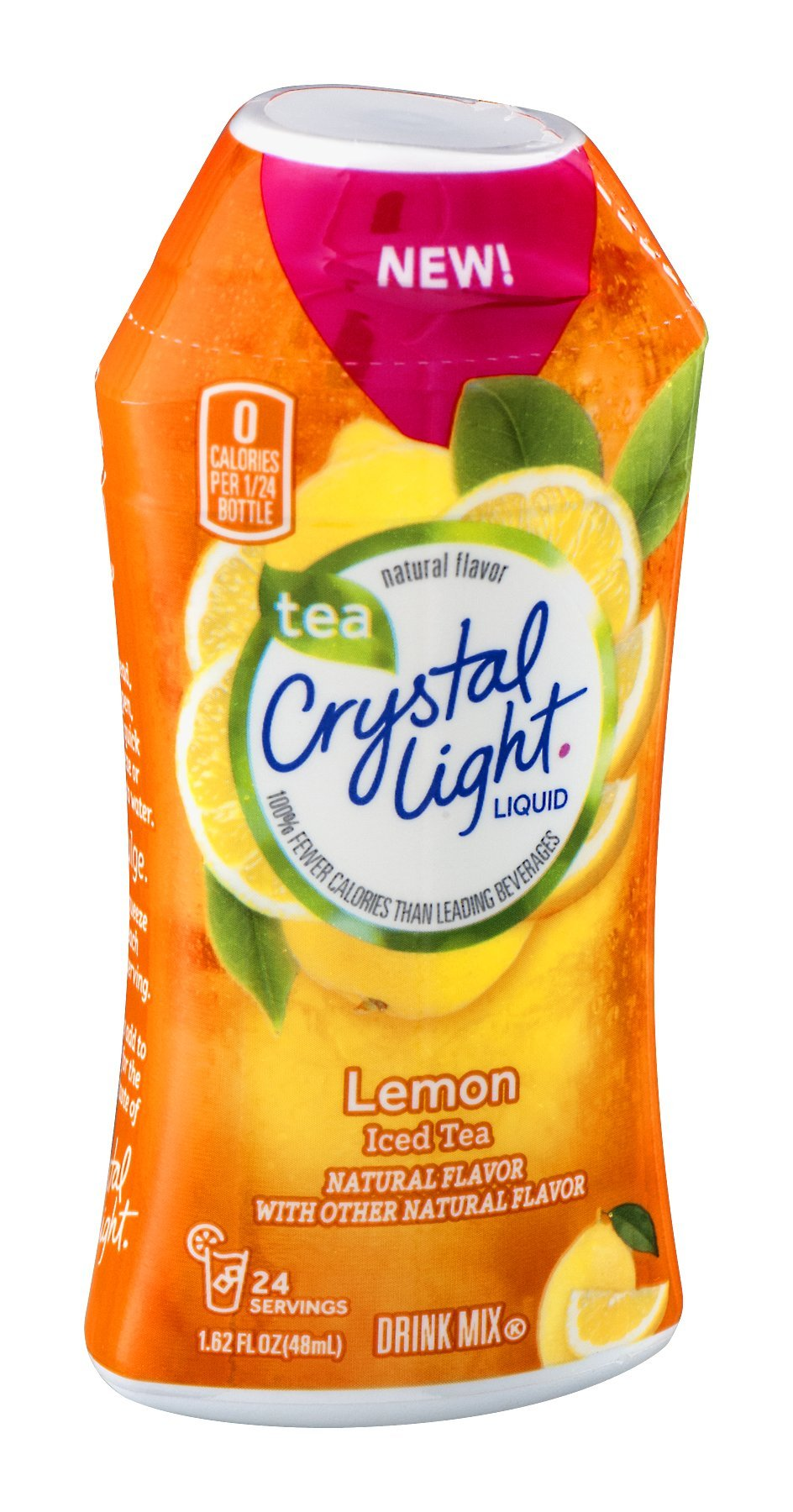 Crystal Light Liquid Lemon Iced Tea 1.62 FZ (Pack of 24)