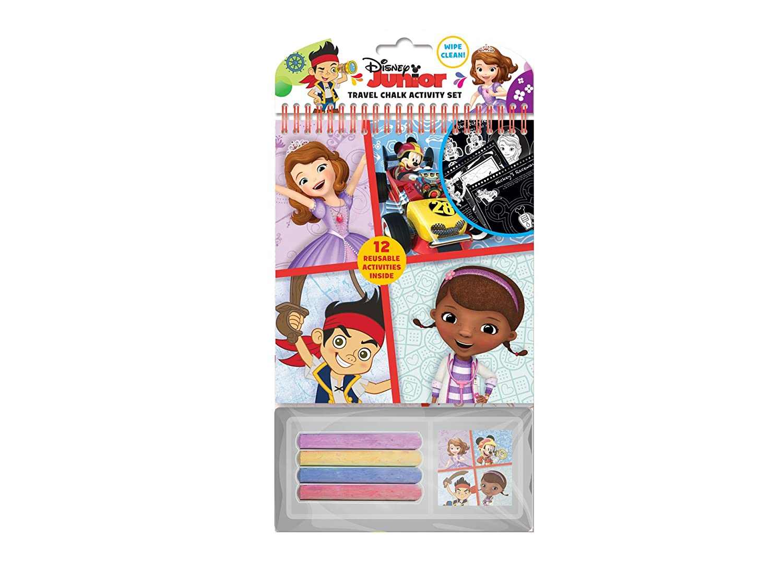 Disney Junior Travel Chalk Pad Red