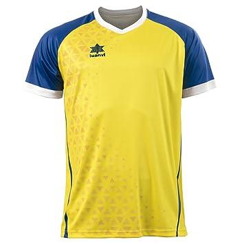 Luanvi Cardiff Camiseta, Unisex Adulto, Amarillo, XS: Amazon.es: Deportes y aire libre