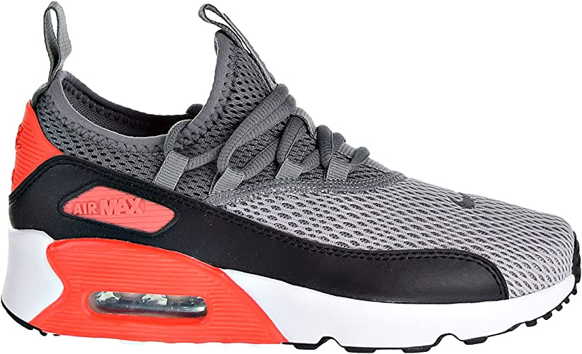 NIKE Air Max 90 EZ (GS) Boys Shoes Wolf GreyCool GreyBlack ah5211 002
