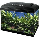 Haquoss, Evolution 40 Acquario 40X25X34H cm, 21 Litri, con Luce a LED 4 Watt, Versione Luxury, Completamente Accessoriato