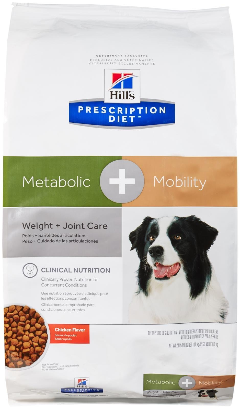 Hill's Prescription Diet Metabolic + Mobility Canine - Chicken Flavor - 24Lbs