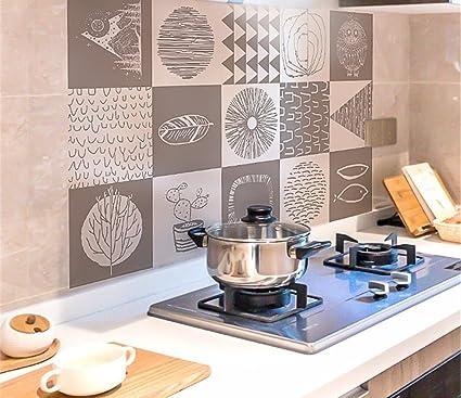Adesivi per olio cucina Adesivi per piastrelle stufa Adesivi per ...