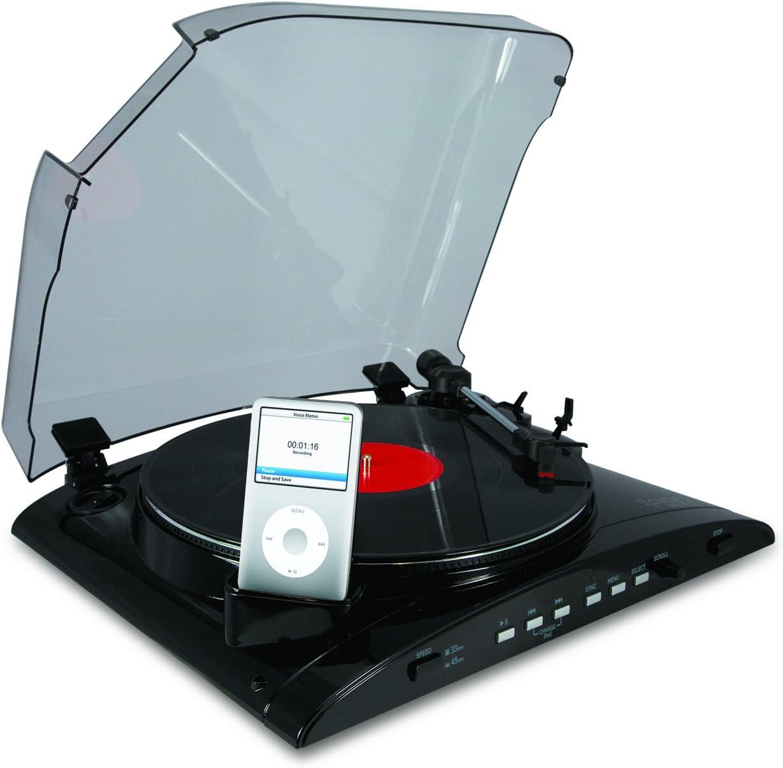 ION Audio IPROFILE Negro tocadisco: Amazon.es: Electrónica