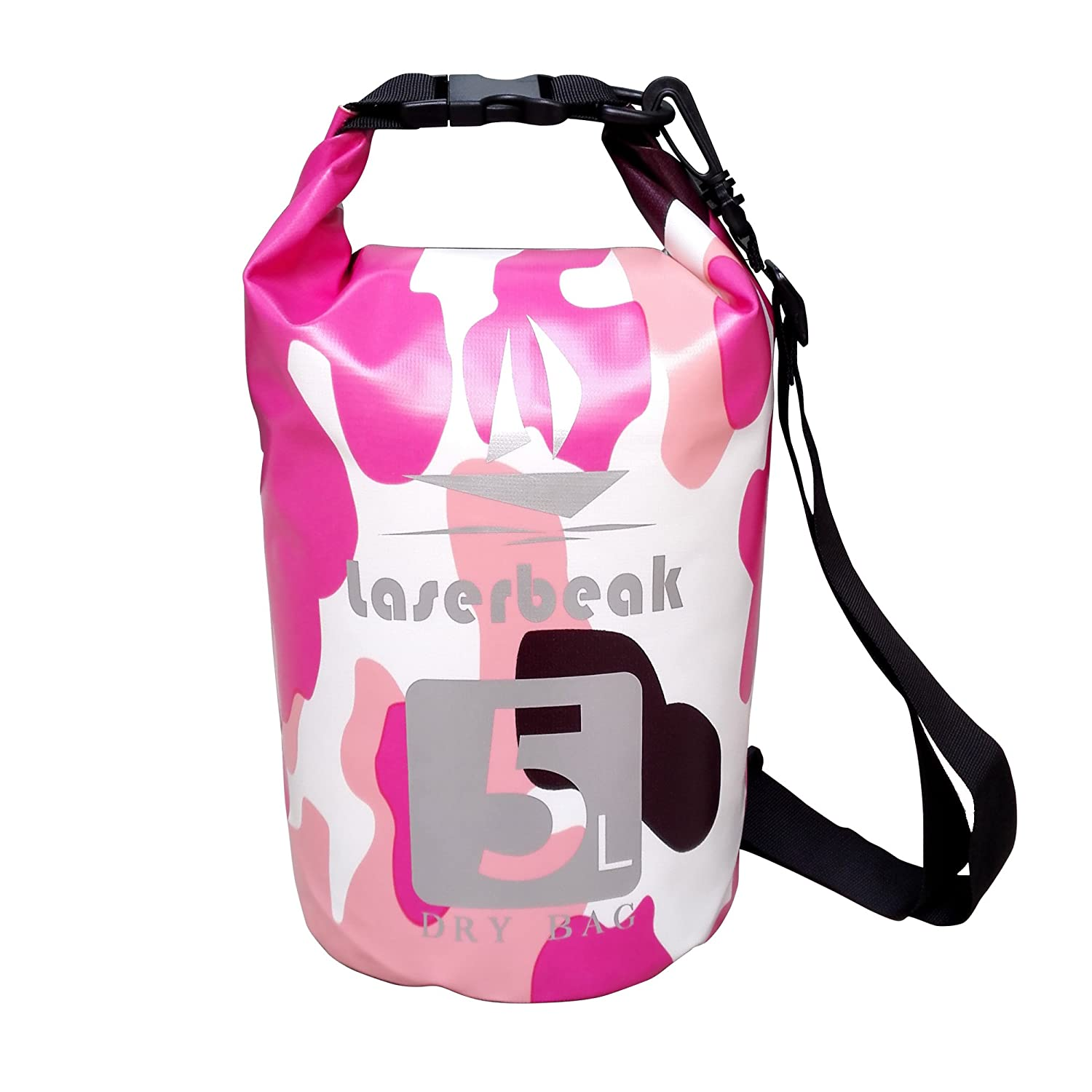 Dry Bag Waterproof Roll Top Dry Bag for Kayaking, Beach, Rafting, Boating, Hiking, Camping and Fishing IRON FIST TECH