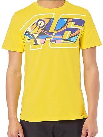 Valentino Rossi T Shirt 46 Helmet Gelb Multi Valentino Rossi