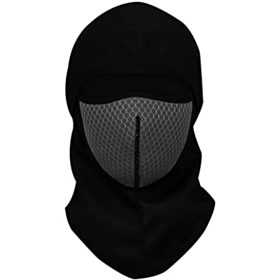Mailudeng Winter Windproof Ski Gear Dust Protection Full Face Mask Warm Neck Gaiter