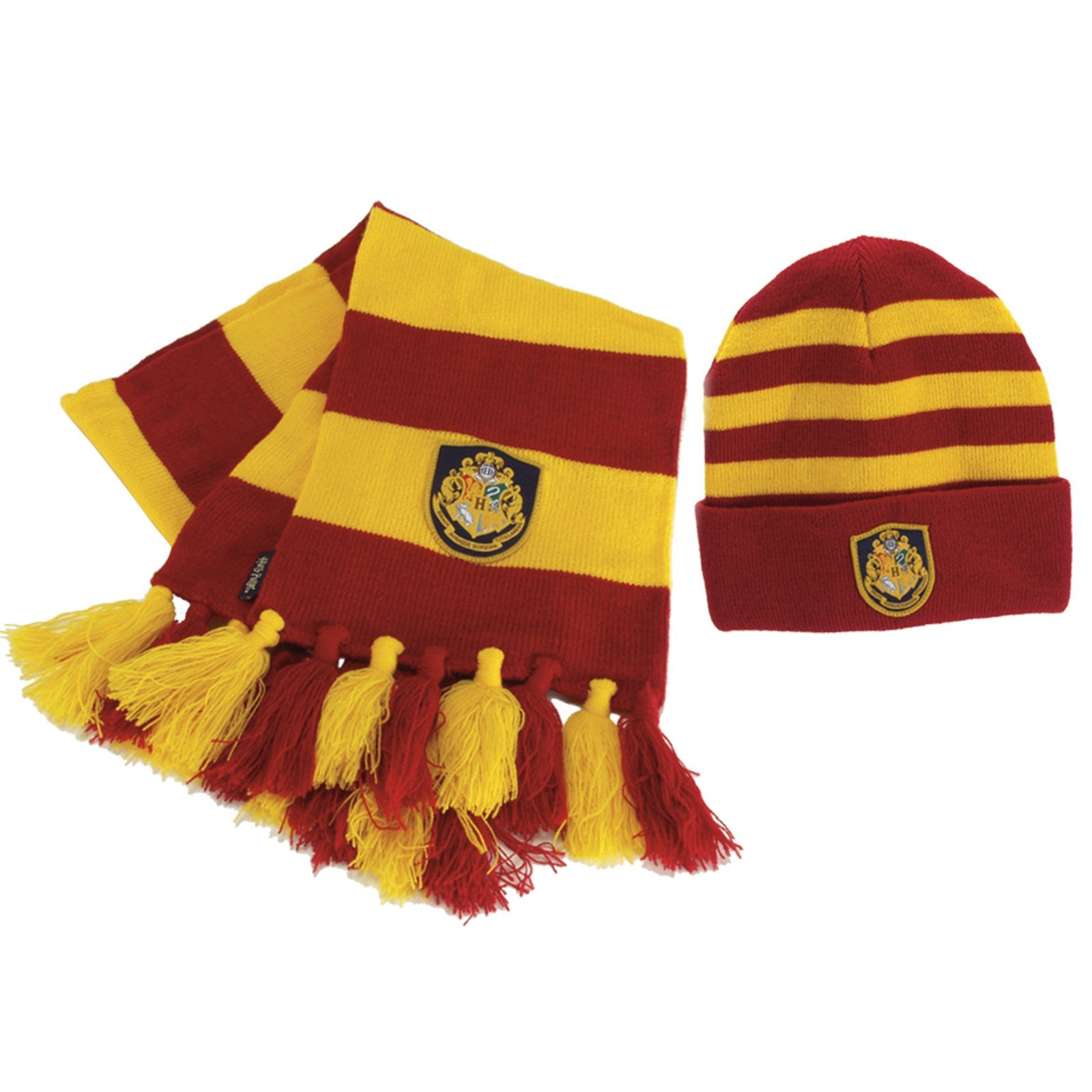 Hogwart's Knit Hat and Scarf