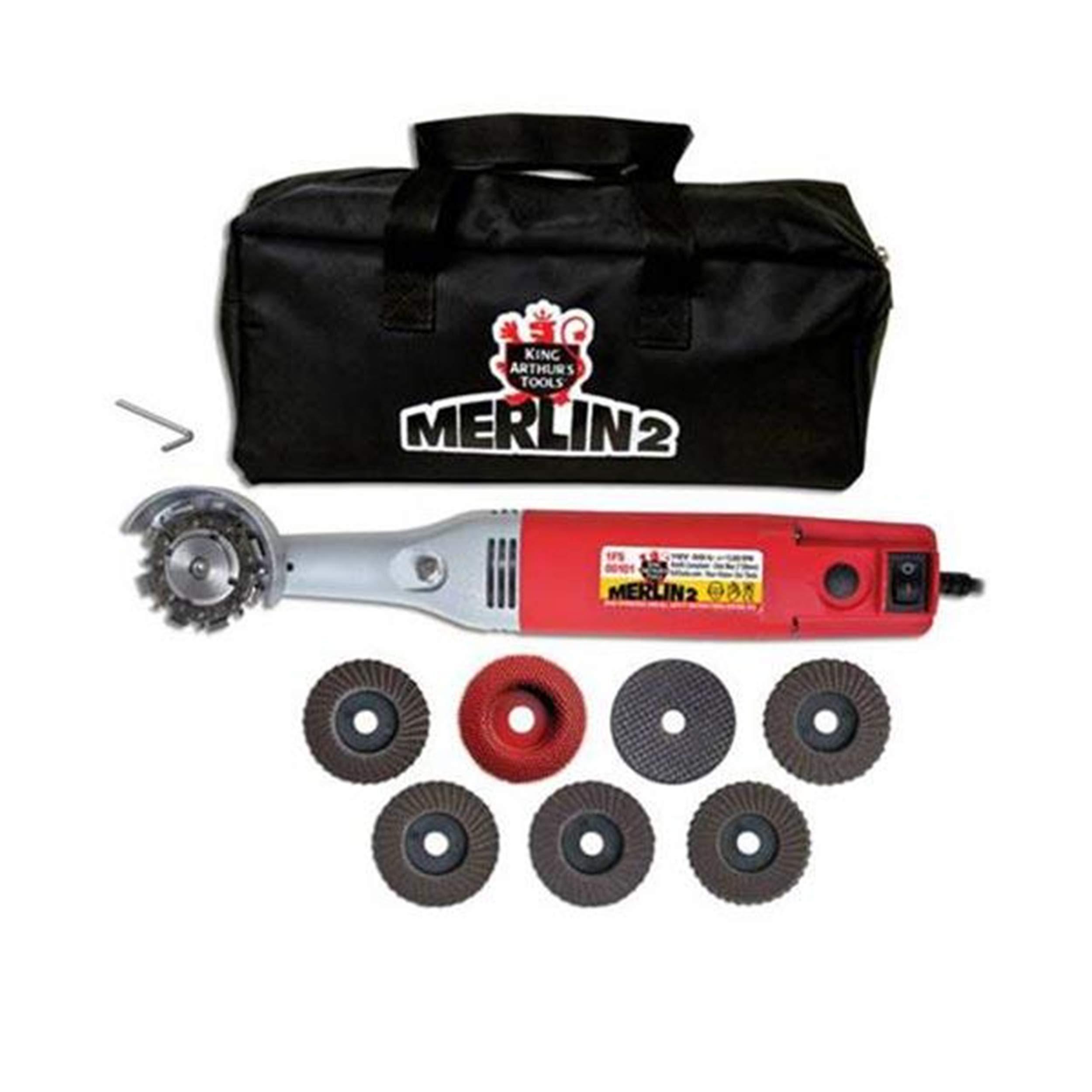 King Arthur Tools Merlin 2 Angle Grinder Kit