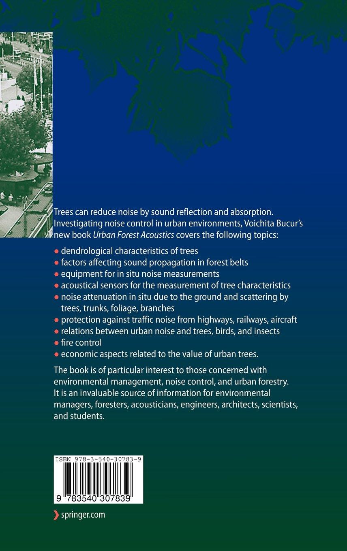 Urban Forest Acoustics by Brand: Springer