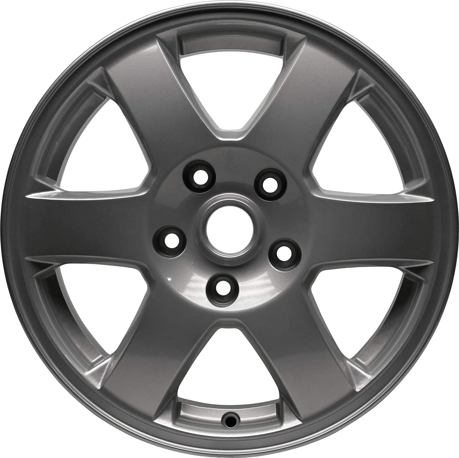 Partsynergy Replacement For New Aluminum Alloy Wheel Rim 17 Inch Fits 07-18 Jeep Wrangler 5 Spokes 5-127mm