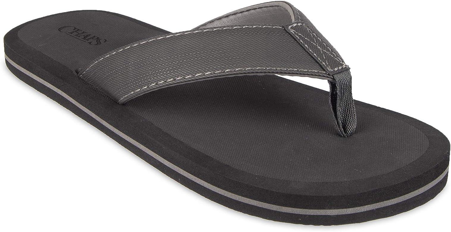 Chaps Men's Athletic Flip Flops Sandal