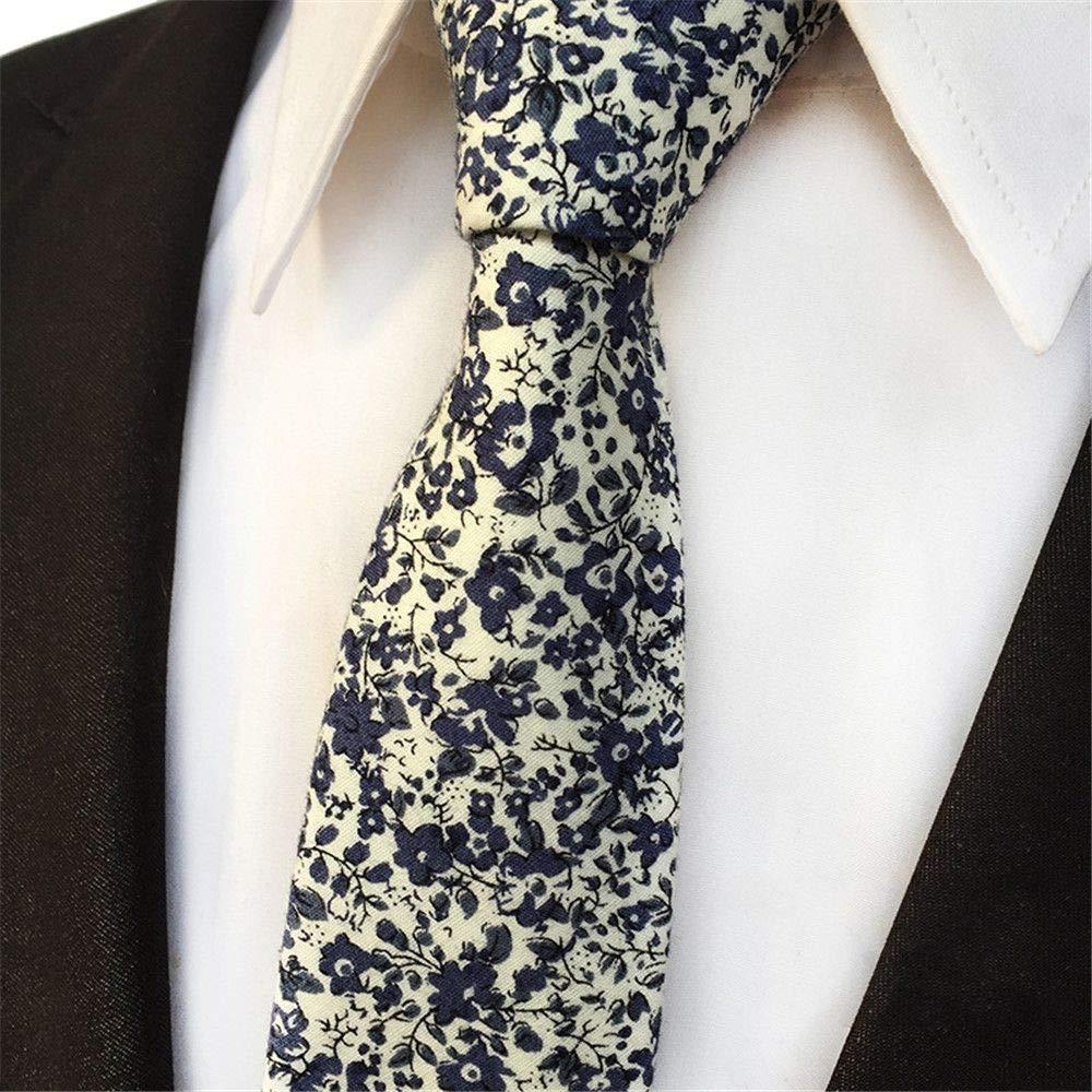 XJIUER corbata Diseño Original Exclusivo Casual Moda Algodón ...