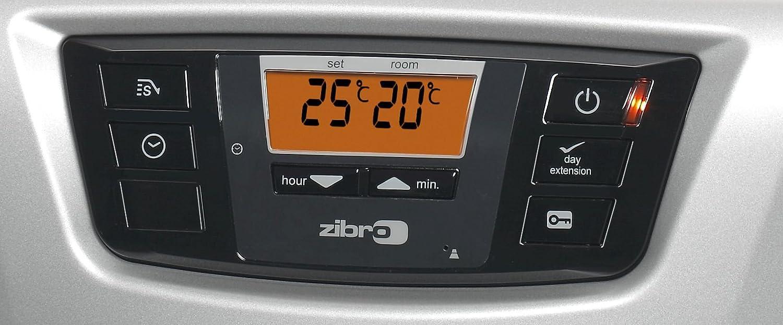 Zibro Made by Toyotomi LC 135 Estufa de parafina electrónica, 3500 W, Plata, 21m2-56m2: Amazon.es: Bricolaje y herramientas