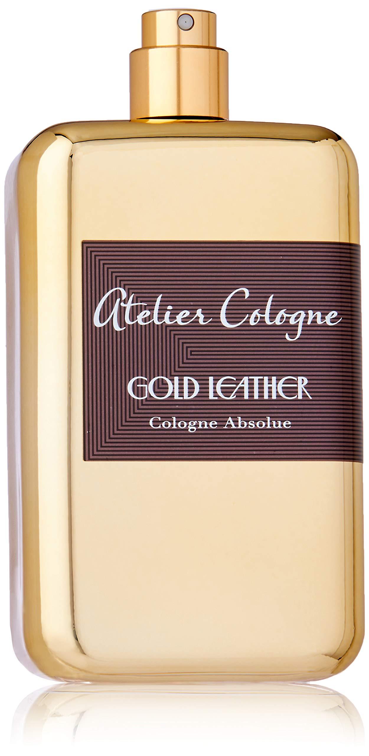 Atelier Cologne Eau de Parfum, Gold Leather, 6.7 Ounce
