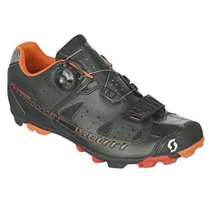 16c808fe37854 Scott Sports Mens Elite Boa Mountain Cycling Shoe - 234712-0001 (Black -  40.0)