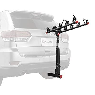 Allen Sports Deluxe Locking Quick Release 5-Bike Carrier for 2 in. Hitch, Model 552QR : Sports & Outdoors