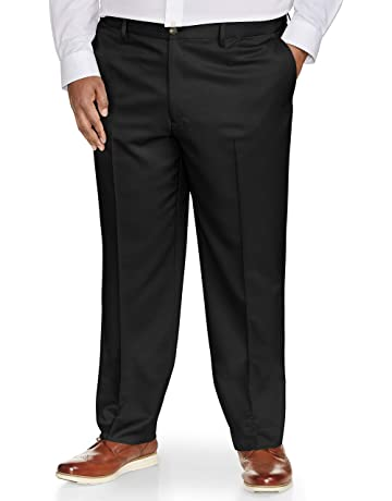 5904f19d Amazon Essentials Men's Classic-Fit Wrinkle-Resistant Flat-Front Chino Pant.  #1