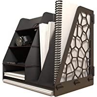 KUK Design Voronoi Masaüstü Organizer Düzenleyici A4 Evrak Rafı (Beyaz)