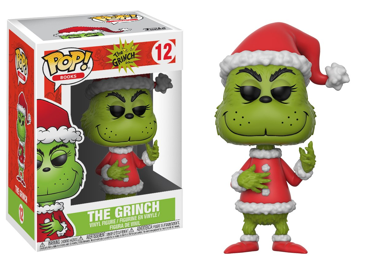 The Grinch - Santa Grinch (assorted colors) Funko Pop!: 21745 Accessory Toys & Games