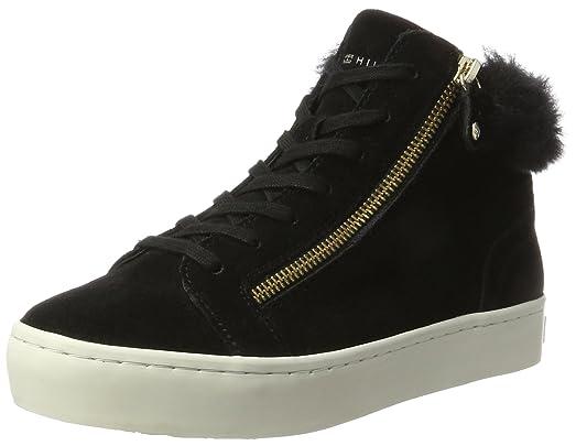 Tommy Hilfiger Sneaker »J1285UPITER 1B1«, schwarz, BLACK