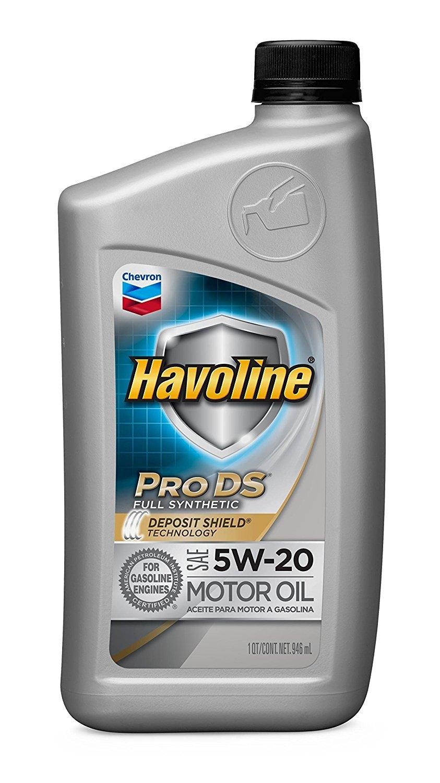 Havoline共同プロデュース合成モーターオイル5 W 20、1 Qt。 Pack 3 B075M17S91 Pack 3  Pack 3
