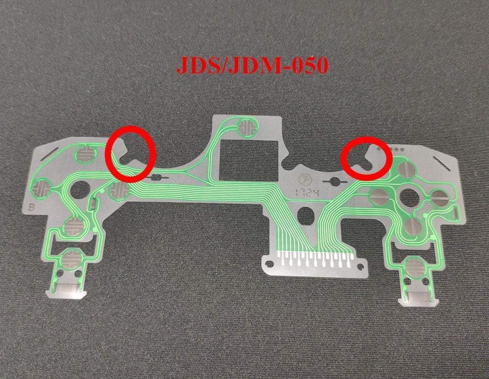 Placa de circuito de cinta de botones de repuesto para película conductora de controlador Dualshock 4 de PS4 Pro y Slim JDS-050.