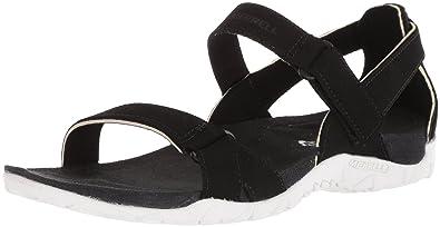 d75bfe7cab05 Merrell Women s Terran Ari Backstrap Sport Sandal Black 5 Medium US