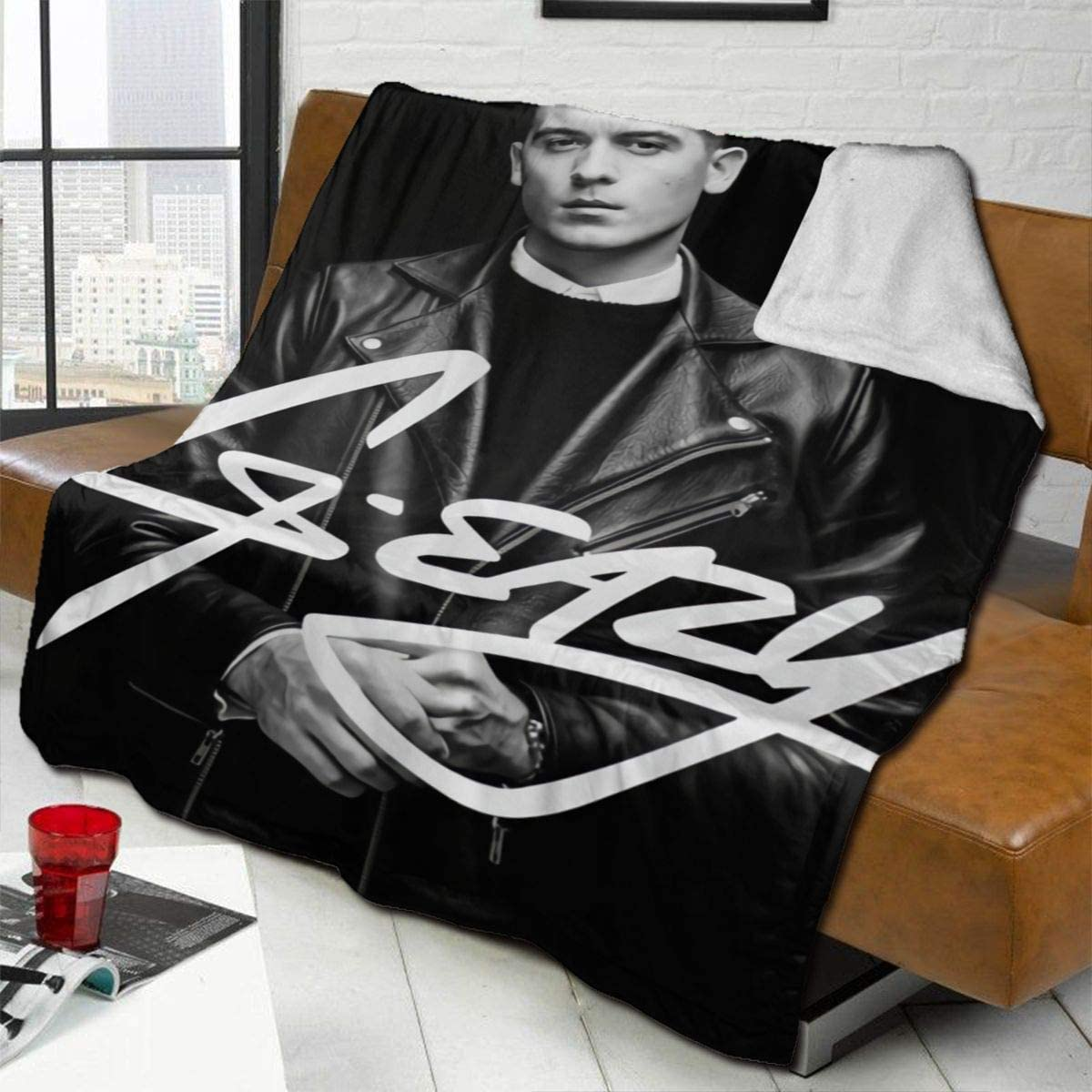 "Dfhrtgre G-Eazy Fashion Blanket Soft Blankets Men Women Home Sofa Bed 50""X40"""