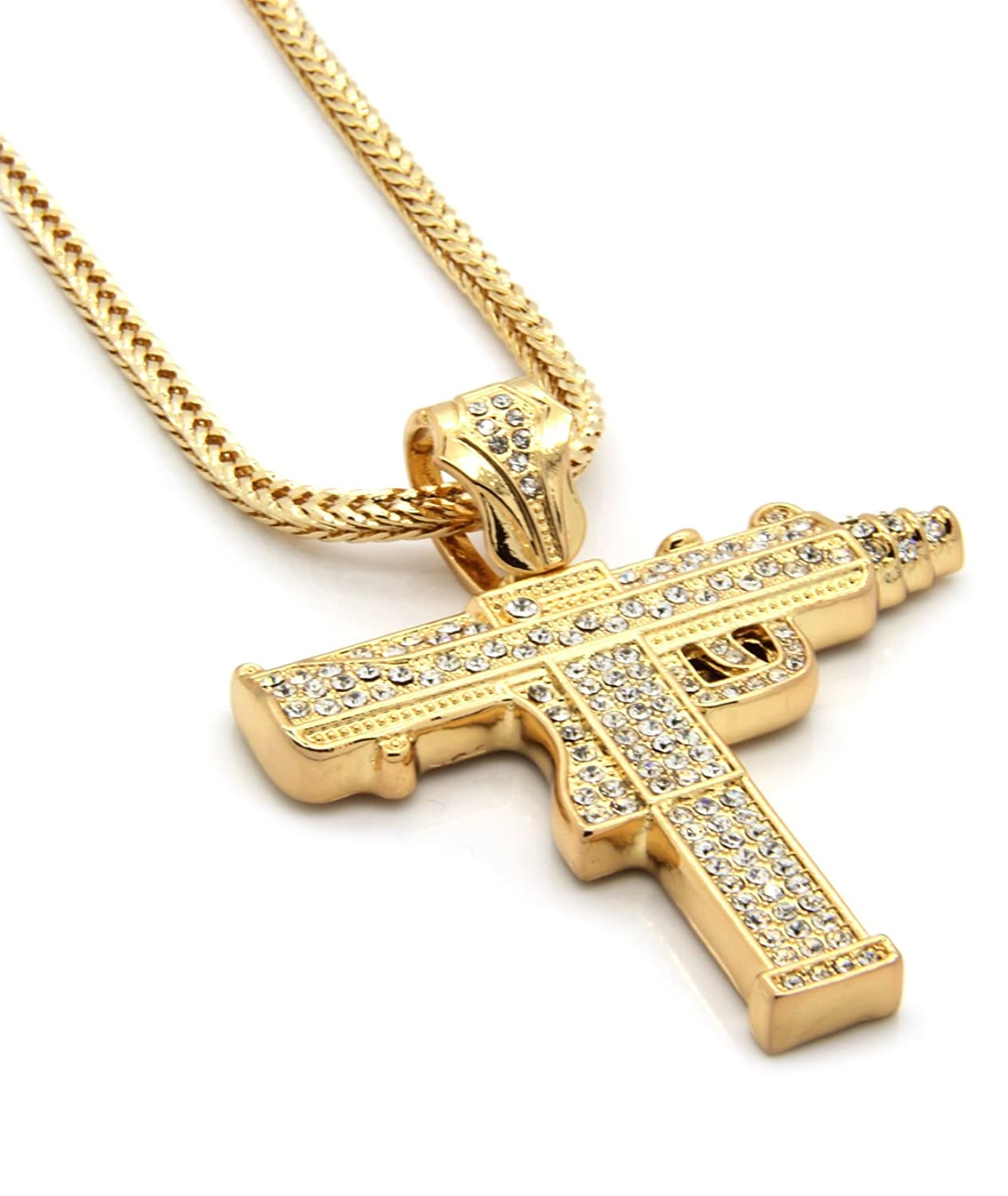 jewellery gold free plated men with clasping necklace s amazon uk hands chain dp real prayer halukakah pendant co rope