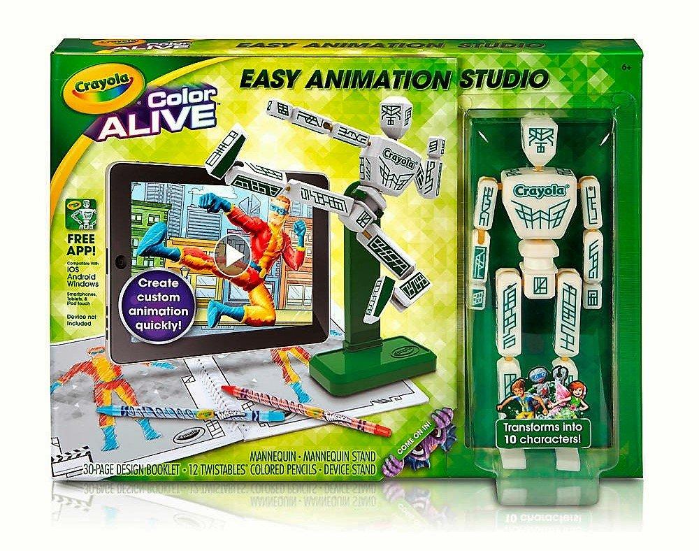 Amazon.com : Crayola Color Alive Easy Animation Studio Model: 95 ...