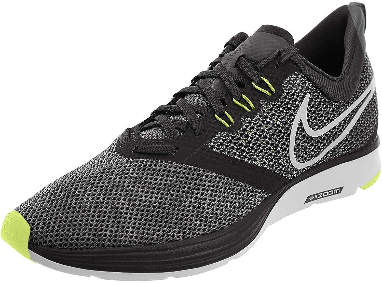Nike Zoom Strike, Zapatillas de Deporte para Hombre, Multicolor (Black/Metallic Silver/Cool Grey/Volt 005), 44 EU: Amazon.es: Zapatos y complementos