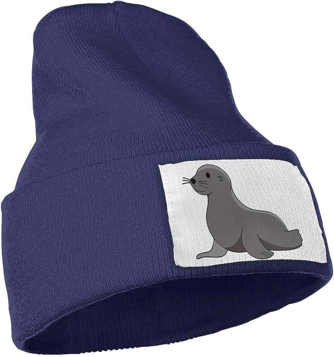 TAOMAP89 Unisex Baby Sea Lion Elephant Seal Skull Caps Men /& Women Winter Warm Stretchy Knitting Beanie Hats