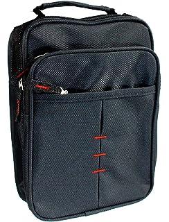 b8b8623301 Vetrineinrete® Borsello da uomo con chiusura a zip borsa a spalla con tre  tasche e