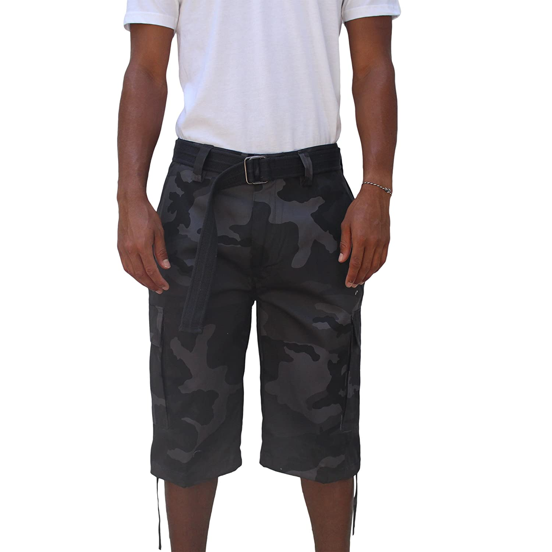 4054ddf623 Regal Wear Mens Multi Color Bright Camo Big & Tall Size 32-44 Short |  Amazon.com