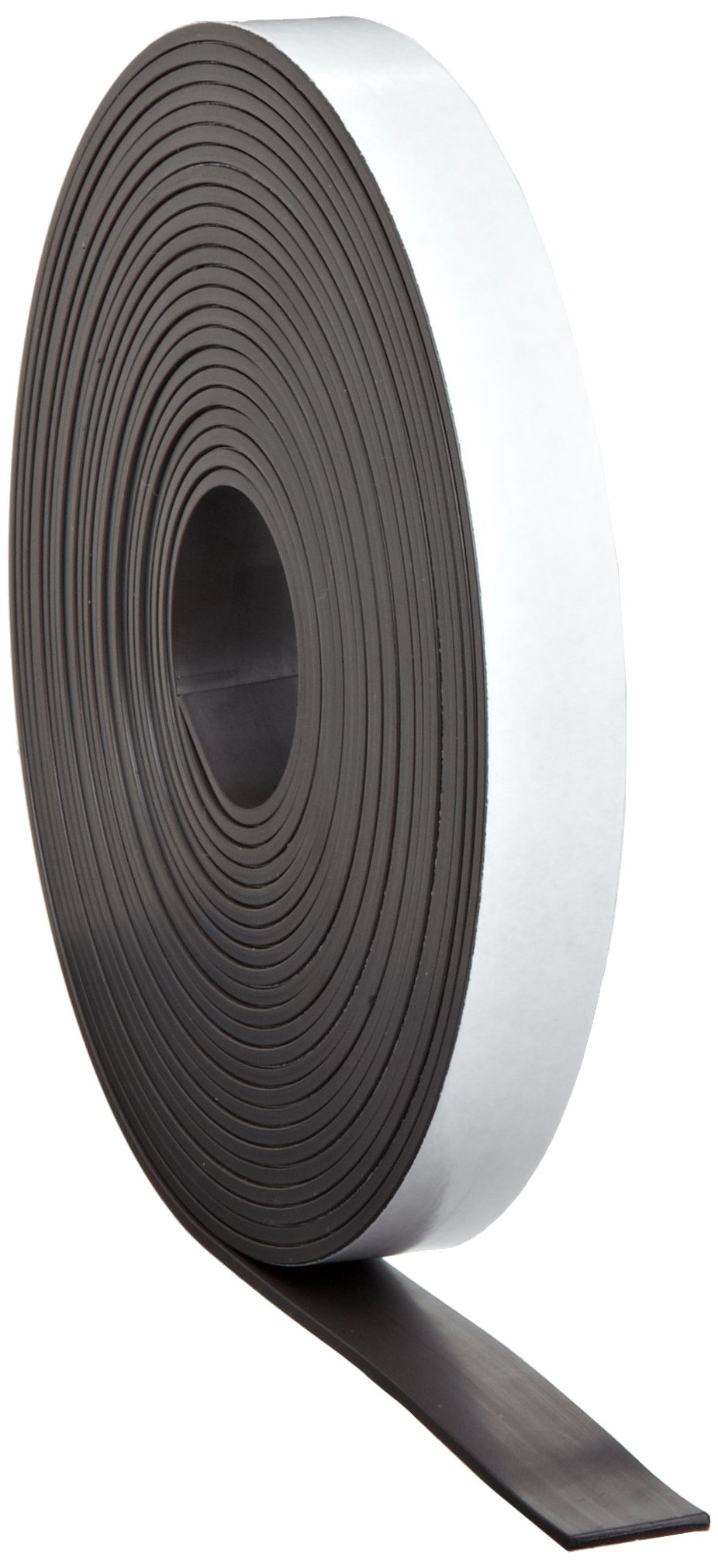 High Energy Flexible Magnet Strip, 1/16'' Thick, 1'' Wide, 100' Length (1 Roll)