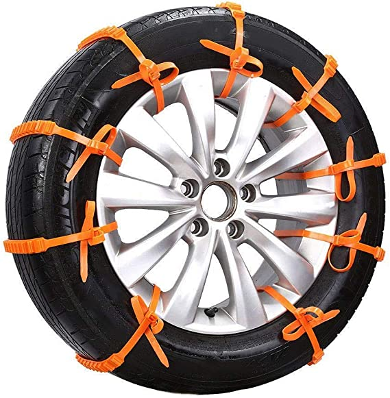 Universal Tire Anti-skid Chain Car Truck SUV Snow Ice Mud Wearable Professional