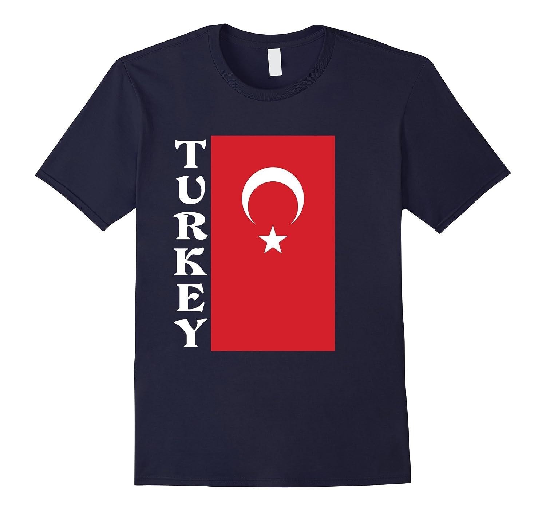 Turkey Turkish Pride Flag T-Shirt-Vaci