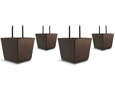 Buy Choice Parts 2 Inch Tall Triangle Walnut Brown Plastic Sofa