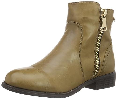 Xti 46190, Zapatillas de Estar por Casa para Mujer, Beige, 37 EU