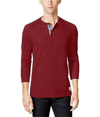 d389a666 Tommy Hilfiger Men's Henley Shirt at Amazon Men's Clothing store: