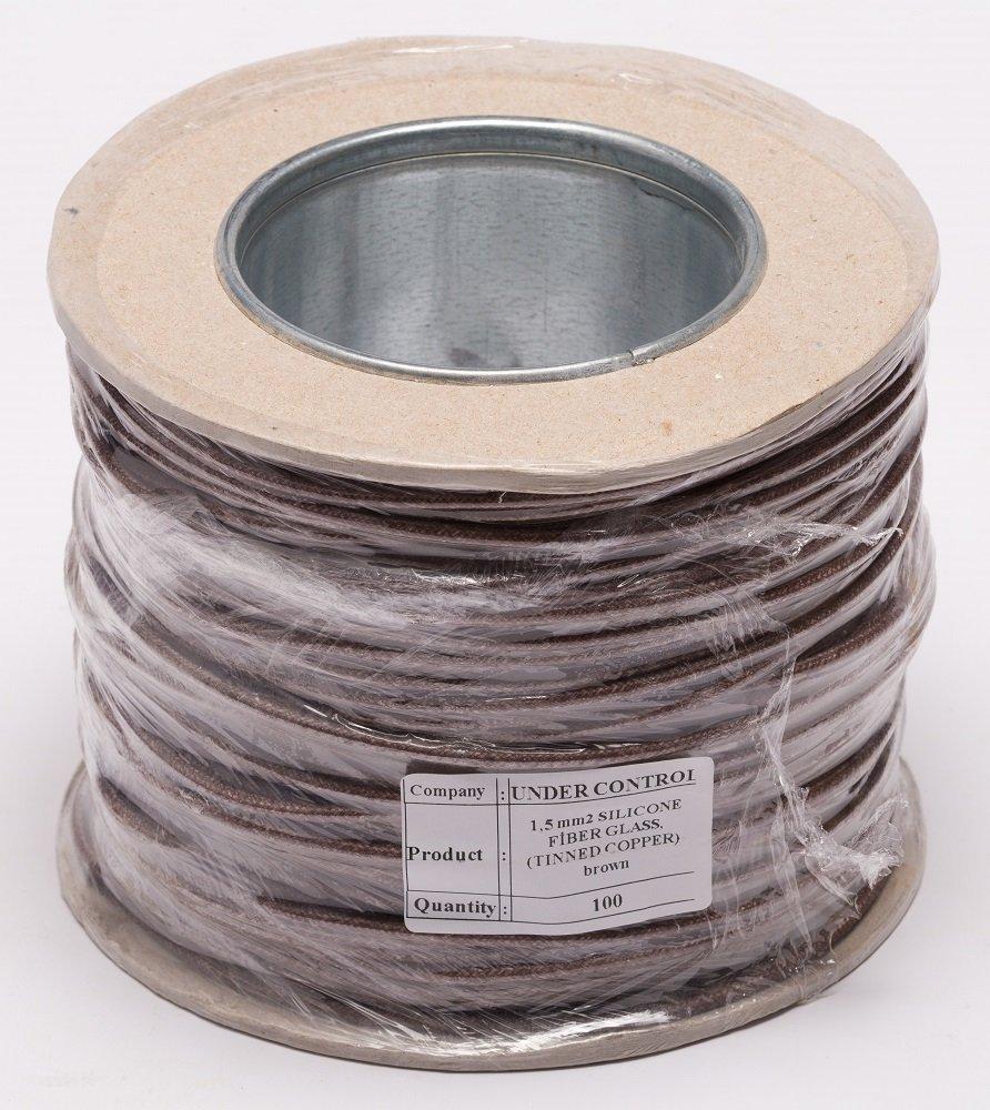 Hitzebeständig hoher Temperatur Glasfaser Draht 1,5 mm Kabel ...