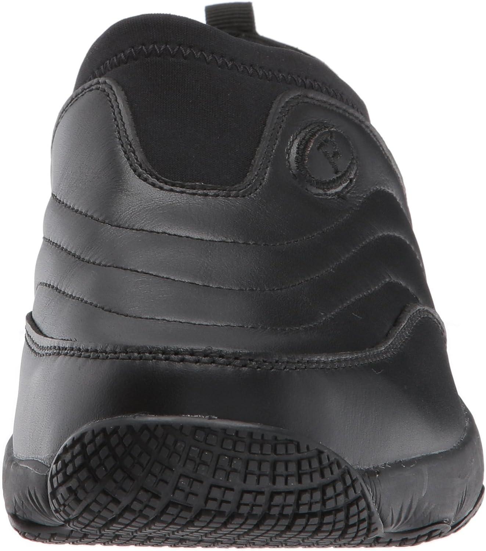 Propét Women's W3851 Wash & Wear Slip-on Ii Slip Resistant Sneaker Walking Shoe Sr Black