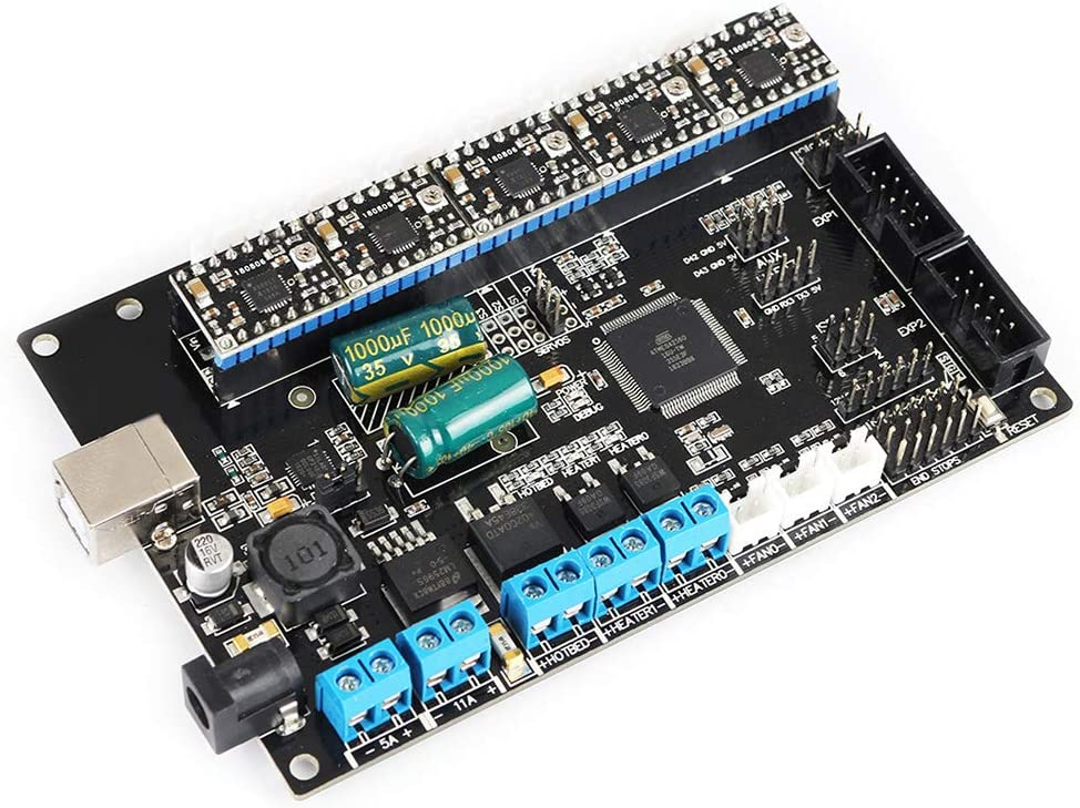 With 4988 Mega2560 Mainboard For TriGorilla Integrate Motherboard Hardware 3D Printer PCB Controller Board Official 4Layers Stable Replacement Accessories Durable