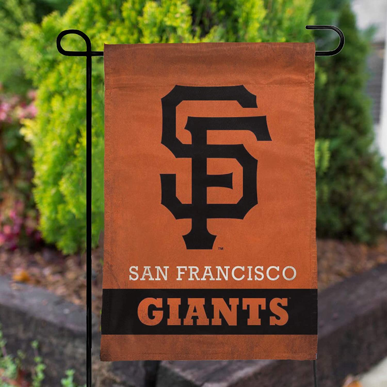 Stockdale San Francisco Giants Garden Flag Double Sided Banner for Lawn Garden Porch