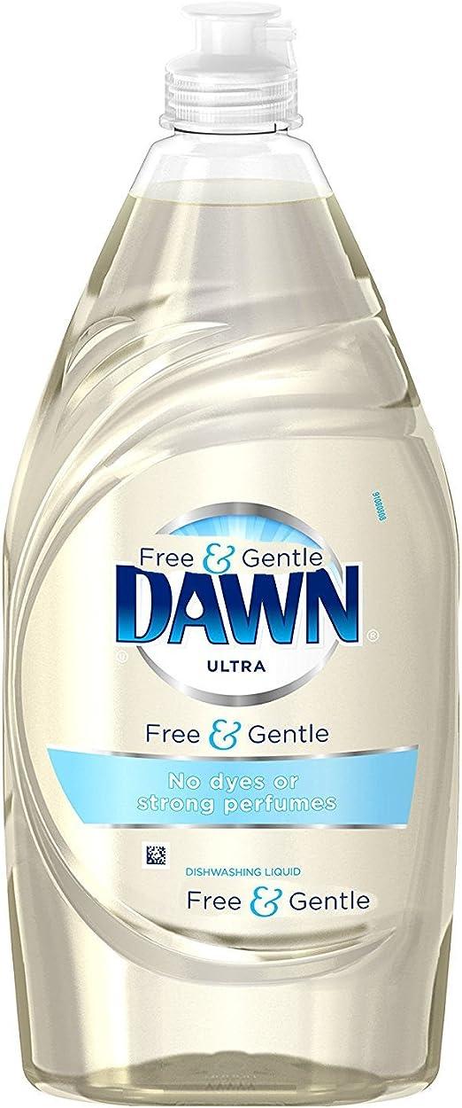 2 unidades. Jabón líquido para lavavajillas Dawn Free & ~ suave ...