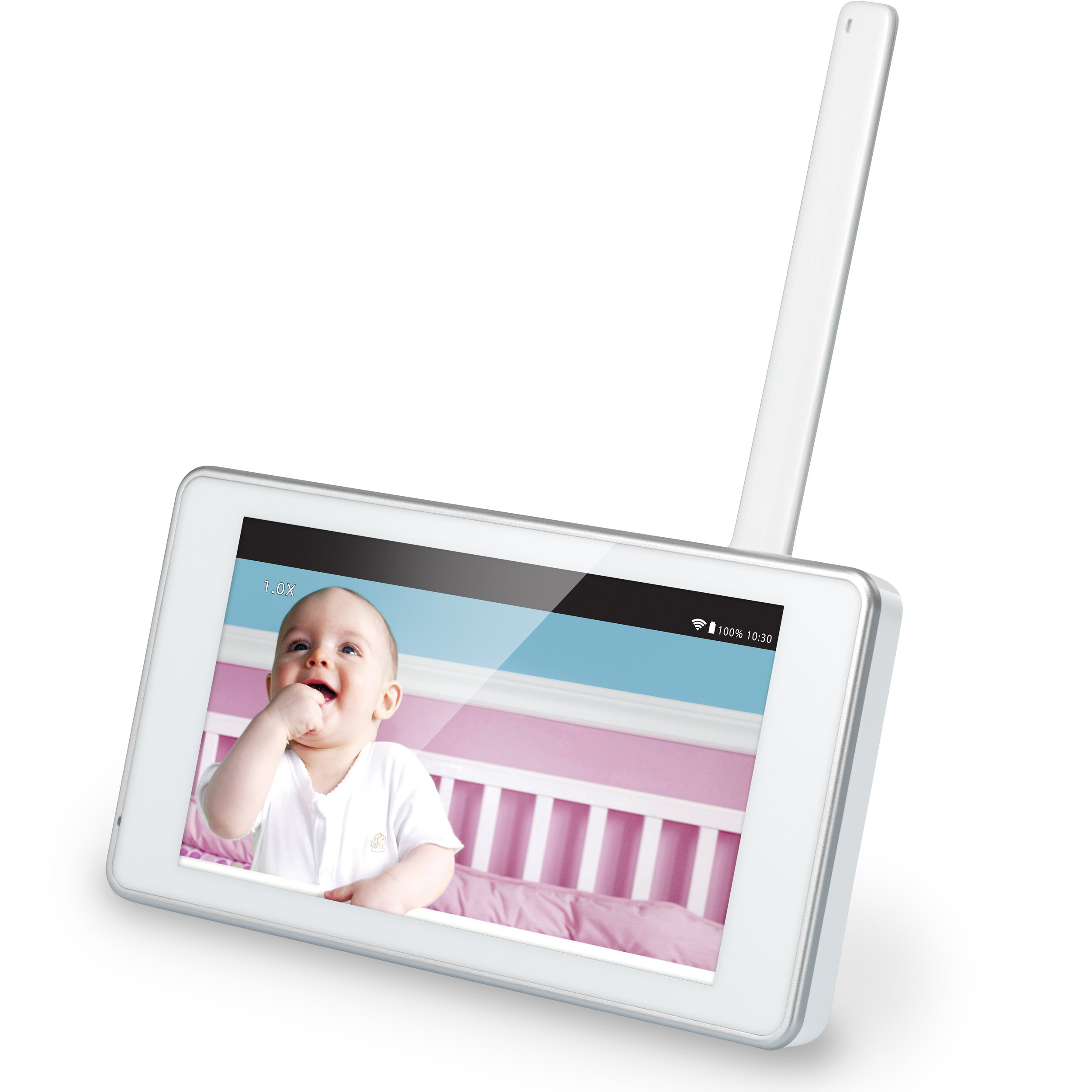 VTech VM991 Wireless WiFi Video Baby Monitor with Remote Access App, 5-inch Touch Screen, Remote Access Pan, Tilt & Zoom, Motion Alerts & Support for up to 10 Cameras by VTech (Image #13)