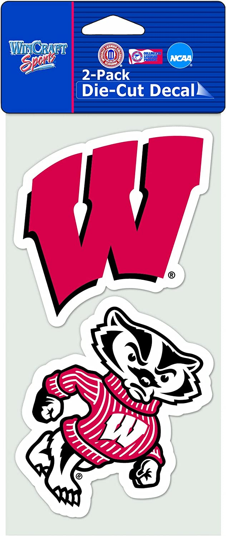 4 x 8 WinCraft NCAA 2-Piece Die-Cut Decal